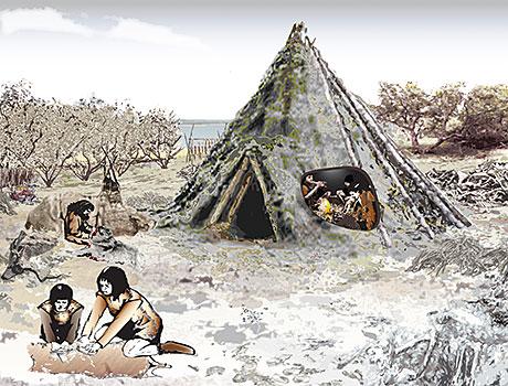 Scotland's first house