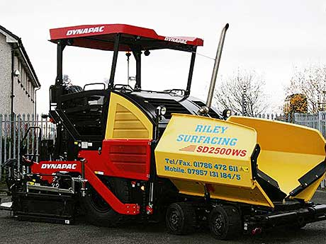 Stirling company gets first paving machine of its kind in Scotland
