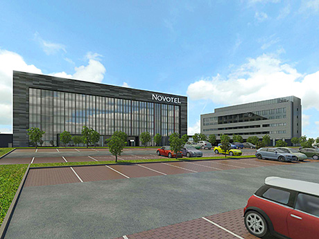 Twin beds deal for airport site
