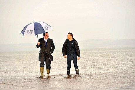 Forth and Tay warning service launched