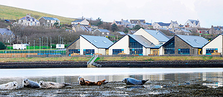 Orkney school completed by Keppie and Morrison