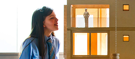 Pupils get some new home work – Green home on show