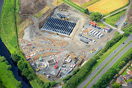 Clyde is cleaner – Largest ever Weholite storage tank installed