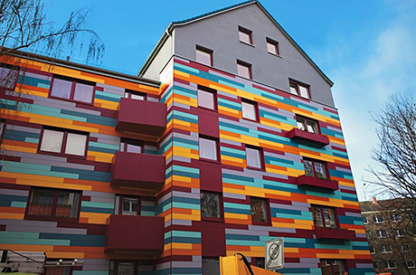 'Haute Couture' in Hannover residential building