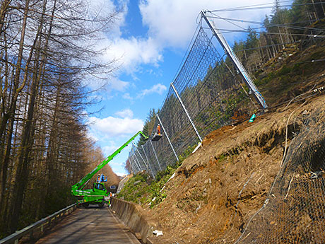 Monster fence breaks records in Argyll