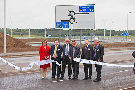 New M8 junction opens up Heartlands