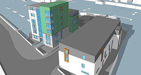 Work starts on Aberdeen homeless facility