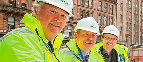 Long arm of the law – first tenant signs up for new Glasgow development