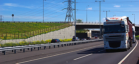 Reinforced-soil contract success for Maccaferri Construction