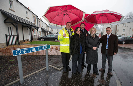 Praise for affordable homes in Denny