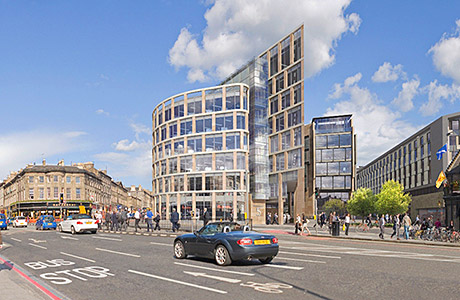 £200 million Haymarket development project is up and running