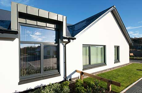 Fabric first approach for Millport homes