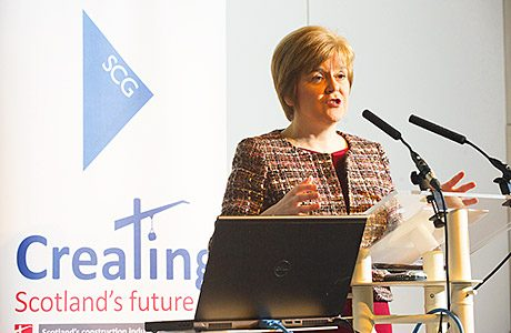 First Minister optimistic on the future of Scottish steel