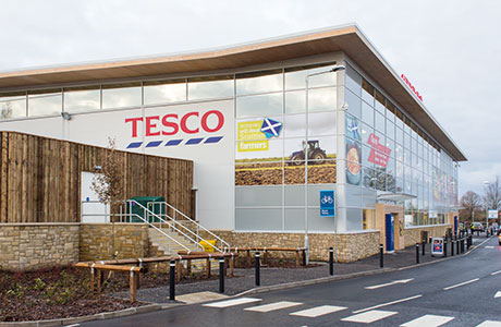 'Store on stilts' innovation eases flooding fears at Tesco Galston