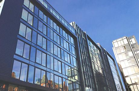 Kawneer glazing systems go the Quartermile