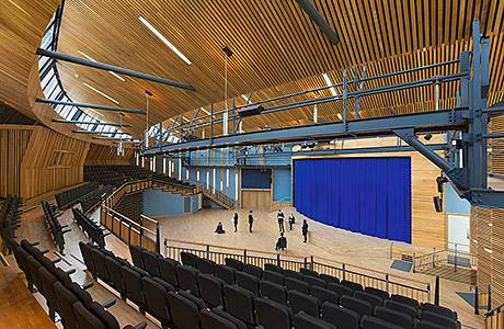 Bespoke roof glazing solution helps to light up stunning auditorium