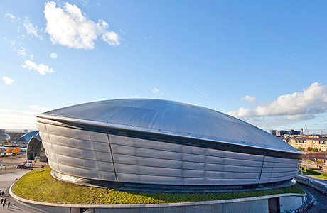 SSE Hydro named one of UK's iconic structures as CITB looks to recognise its builders