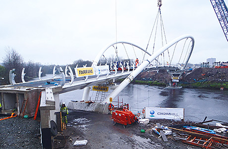 Bridging a gap – milestone reached in bid to improve Clyde connectivity