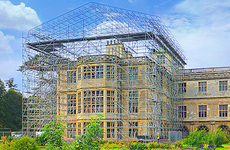 Temporary roofing system helps make the most of heritage site
