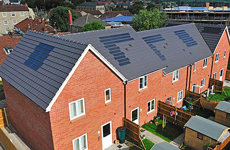 Integrated solar PV – a glimpse into the future of new house builds