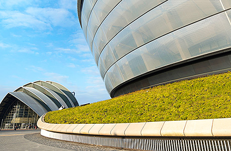 Sse Hydro Benefits From Green Roof Solution Project Scotland