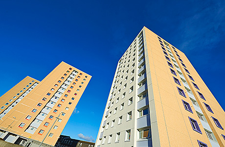 New windows make a difference to Aberdeen apartment blocks