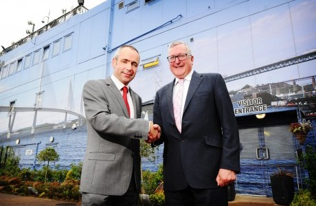 Construction Scotland welcomes Minister to meeting at Forth Replacement Crossing