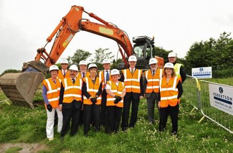 Work begins at new Brechin Community Campus
