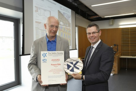 Tenement fuel poverty project scoops Housing Design Award