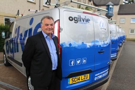 Ogilvie Construction strike gold