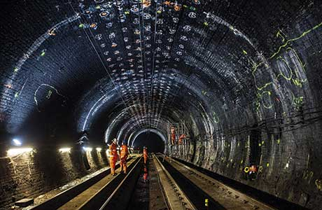 Tunnel strengthening work paves way for Haymarket development