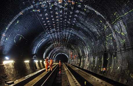 Tunnel strengthening work paves way for Haymarket development