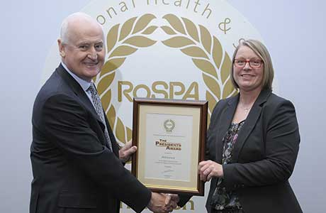 Scottish firms recognised by RoSPA