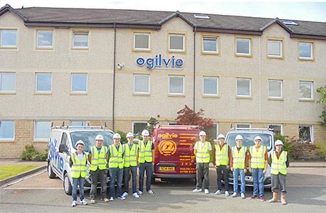 Ten new apprentices for Ogilvie