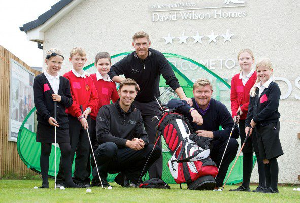 Prestonpans pupils get a hole in one