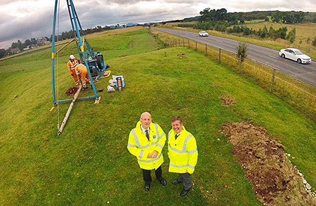 A9 dualling work ahead of schedule