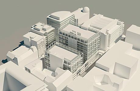 Firms unveil plans for £100m office scheme