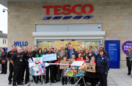 Barr Completes New Tesco In Dunfermline Project Scotland