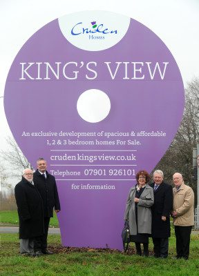 Royal view for King's Park locals