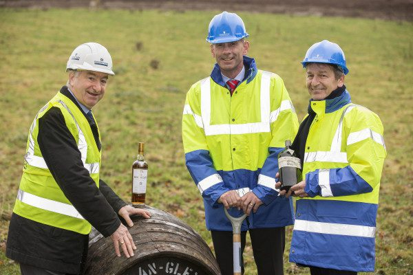 Work officially starts at The Macallan on new distillery