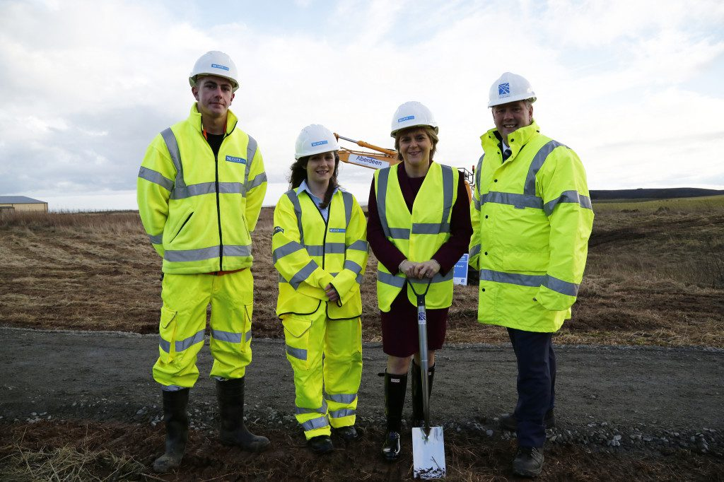 Work Starts On 163 745m Aberdeen Bypass Project Scotland
