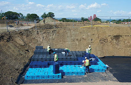 AquaCell holds key to drainage solution
