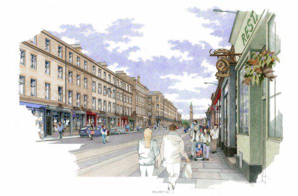 Capital street transformation underway