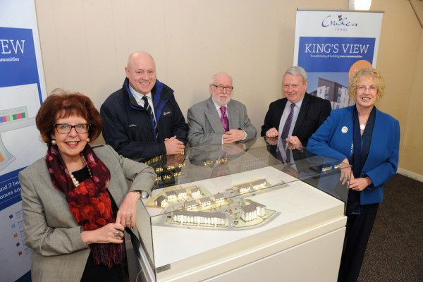 Housing Minister launches Cruden's new affordable housing development