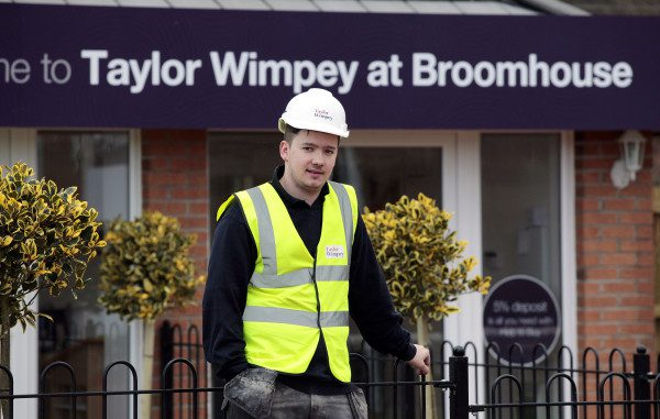 Taylor Wimpey highlights benefits of investing in apprentices