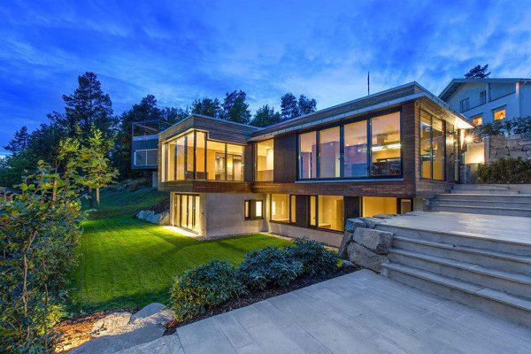 Kebony unveils Villa Melkeveien