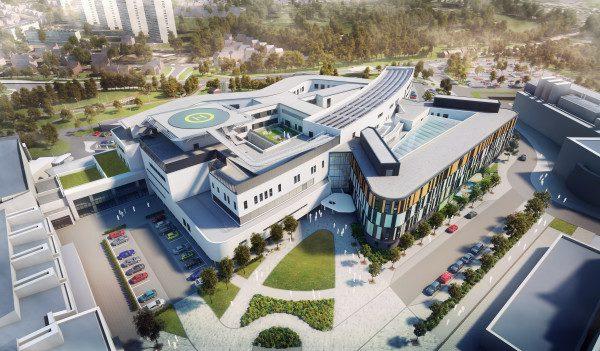 Work begins on £150m Edinburgh hospital