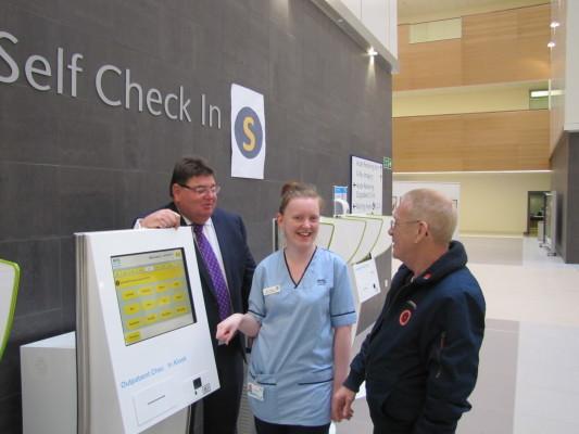 New South Glasgow University Hospital opens its doors