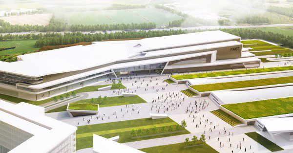Keppie Design appointed architect for new AECC