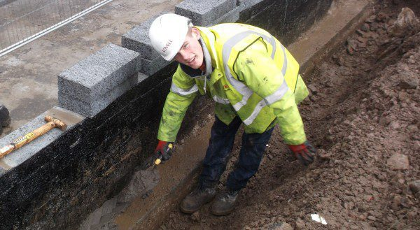 Glasgow housing scheme gives teen chance to build career